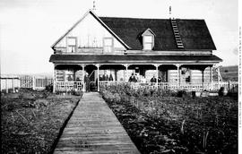William Parker's home at Big Lake; near 150 Mile House.