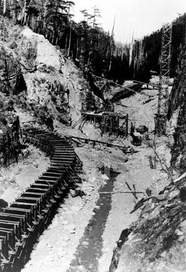 """Nanaimo Dam construction, 17th Jul 1931"", No. 15."