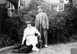 Mr. and Mrs. Henry Burchell, Thetis Island.