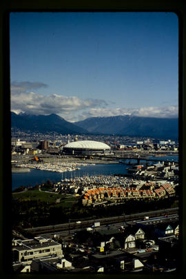 Skyline And B C Place Stadium Vancouver