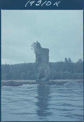 Pillar Rock Queen Charlotte Islands