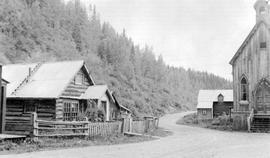 The Cariboo Highway Out Of Barkerville To Wells