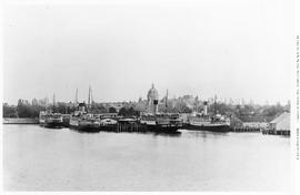 Victoria Inner Harbour Showing CP Steamships