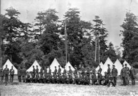Camp of Victoria Rifles.  August 1870