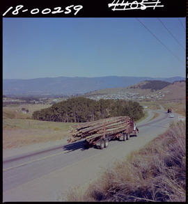 Logging Truck On Highway 33