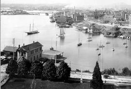 Victoria's inner harbour, from the Legislative Buildings