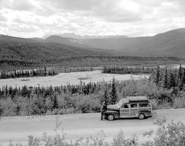 Alaska Highway, Mile 400.0 South