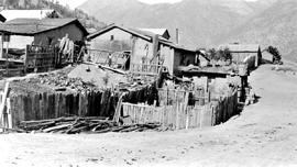 Adobe houses in Lillooet