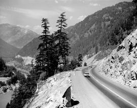 Highway In Fraser Canyon