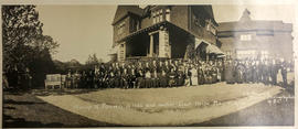 Group of pioneers of 1862 and earlier, Govt. House, May 10, 1924