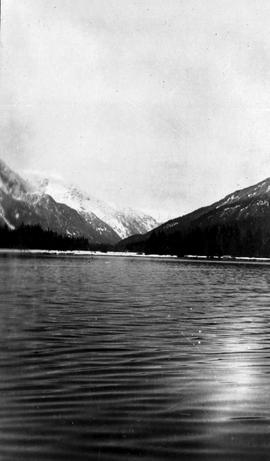 Swannell Survey; mountains from the water.