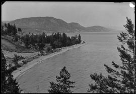 Okanagan Lake Along The Summerland-Peachland Road