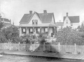 The J. T. Pidwell home, at Douglas and Humboldt Streets, Victoria.