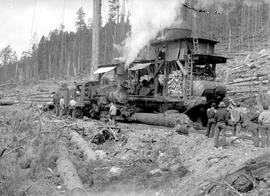 120 Ton Skidder Unit And Climax Loco Cowichan Lake