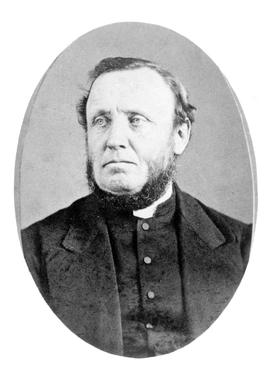The Reverend Edward Cridge; second chaplain to the Hudson's Bay Company; arrived in 1855.