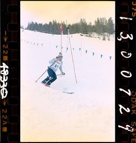 BC Winter Games, Kimberley; alpine skiing.