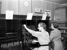 BC Telephone Company operations on Salt Spring Island; operators.