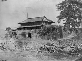 [Canton, China ] 2) The North East Gate from the ruined houses inside the walls - some little dis...