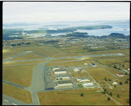 Aerial Of Victoria International Airport