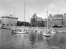 Swiftsure Yachts In Victoria Harbour