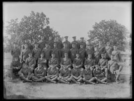 Soldiers of the 2nd Canadian Mounted Rifles