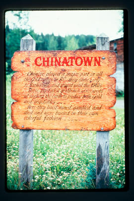Signs Of Barkerville - Chinatown