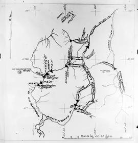 """Key-map drawn by Mr. McKie to assist in the explanation or simplify the plan of the scheme ..."