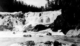 """La Joie Falls, Bridge River Power Company""."