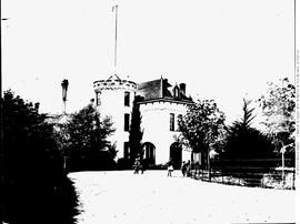 Government House, Cary Castle, Victoria, View From The Northeast.
