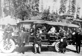 Bus Used To Transport Miners From Ladysmith To Cassidy
