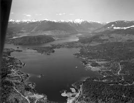 Aerial Of Sproat Lake