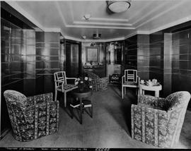 """Empress of Britain; First Class Apartment No. 165""."