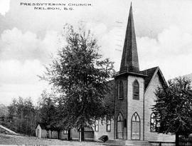 """Presbyterian Church, Nelson, BC."""