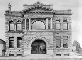 Victoria Public Library, Carnegie Building; Corner Of Yates And Blanshard; Built 1904