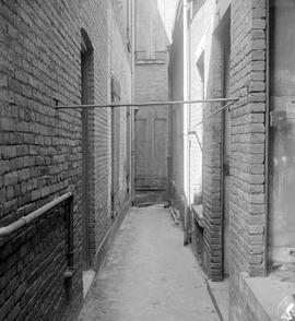 Alley behind McDonald's Bank, corner of Yates and Wharf Street, Victoria