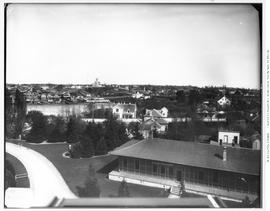 View Of Victoria, From Parliament Buildings, The Birdcages; Towards Church Hill.
