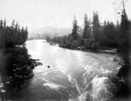 """On Stave River""; Stave Falls power project; photograph no 13."
