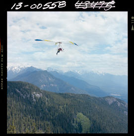 Hang Gliding In Columbia Valley At Invermere