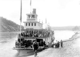 SS BC Express On The Nechako River.