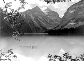 Kinney Lake and Mount Robson.