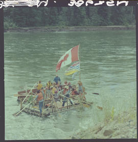 Raft Race, North Thompson River Near Clearwater