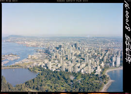 Aerial, Stanley Park, Vancouver