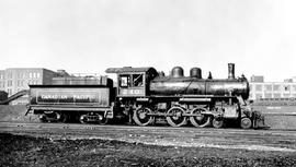 4-6-0 Esquimalt and Nanaimo [E & N] No. 240  Right broadside. Close mid-distance. Good detail...