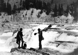Kootenay River Expedition, Overlooking Falls