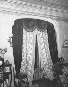 The drawing room at Hollybank; once the home of Mr. and Mrs. Robert Paterson Rithet, photo taken after Mrs. Rithet's death; 952 Humboldt Street, Victoria.