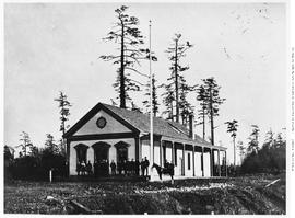 The Royal Navy Clubhouse, Esquimalt, V.I. [Vancouver Island]