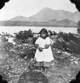 A little girl at Port Simpson