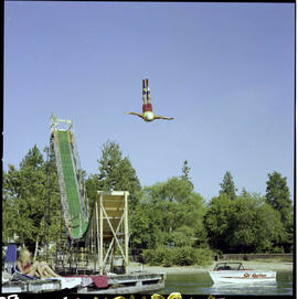Water-Ski Jumping Kelowna Regatta