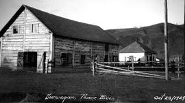 Hudson's Bay Company warehouse at Dunvegan