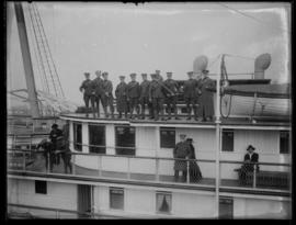RCGA troops aboard the Princess Victoria